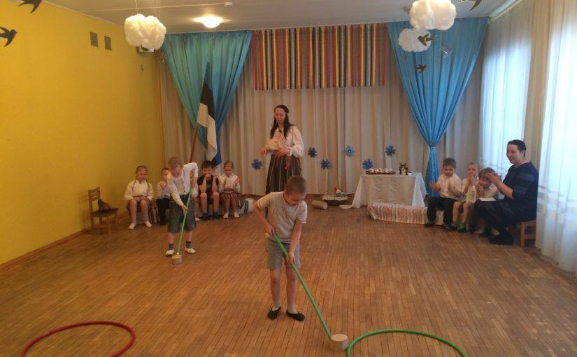 Масленица 2017. Группа NUKITSAMEES